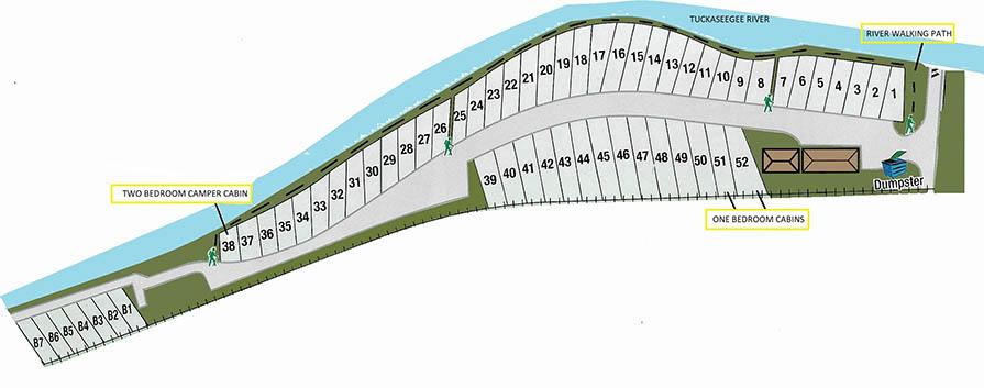 sitemap for tuckaseegee rv resort